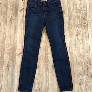 Madewell High Riser Skinny Jeans Style E4872